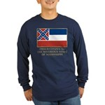 Mississippi Proud Citizen Long Sleeve Dark T-Shirt