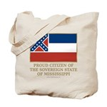 Mississippi Proud Citizen Tote Bag