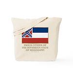 Mississippi Proud Citizen Tote Bag
