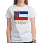 Mississippi Proud Citizen Women's T-Shirt