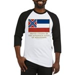 Mississippi Proud Citizen Baseball Jersey