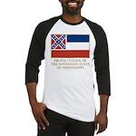 Mississippi Proud Citizen Baseball Jersey