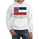 Mississippi Proud Citizen Hooded Sweatshirt