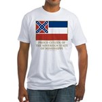 Mississippi Proud Citizen Fitted T-Shirt