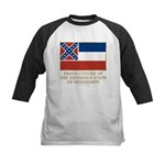 Mississippi Proud Citizen Kids Baseball Jersey