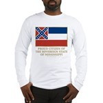 Mississippi Proud Citizen Long Sleeve T-Shirt