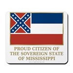 Mississippi Proud Citizen Mousepad