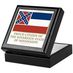 Mississippi Proud Citizen Keepsake Box