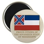 Mississippi Proud Citizen Magnet