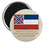 Mississippi Proud Citizen Magnet