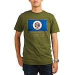 Minnesota Proud Citizen Organic Men's T-Shirt (dar