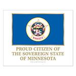 Minnesota Proud Citizen Small Poster