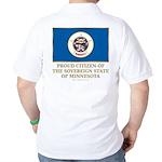 Minnesota Proud Citizen Golf Shirt
