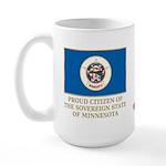 Minnesota Proud Citizen Large Mug