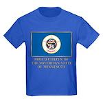 Minnesota Proud Citizen Kids Dark T-Shirt