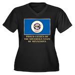 Minnesota Proud Citizen Women's Plus Size V-Neck D