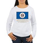 Minnesota Proud Citizen Women's Long Sleeve T-Shir