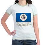 Minnesota Proud Citizen Jr. Ringer T-Shirt