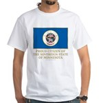 Minnesota Proud Citizen White T-Shirt