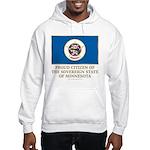 Minnesota Proud Citizen Hooded Sweatshirt