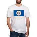 Minnesota Proud Citizen Fitted T-Shirt