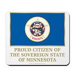 Minnesota Proud Citizen Mousepad