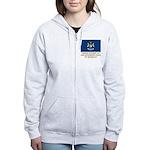 Michigan Proud Citizen Women's Zip Hoodie