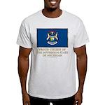 Michigan Proud Citizen Light T-Shirt