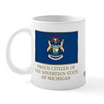 Michigan Proud Citizen Mug