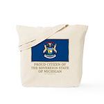 Michigan Proud Citizen Tote Bag