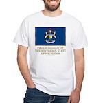 Michigan Proud Citizen White T-Shirt