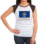 Michigan Proud Citizen Women's Cap Sleeve T-Shirt