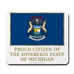 Michigan Proud Citizen Mousepad