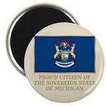 Michigan Proud Citizen Magnet