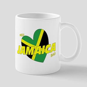 Meh love Jamaica bad Mug