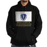 Massachusetts Proud Citizen Hoodie (dark)