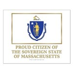 Massachusetts Proud Citizen Small Poster