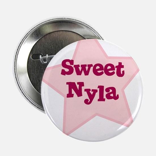 Sweet Nyla Button