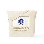 Massachusetts Proud Citizen Tote Bag