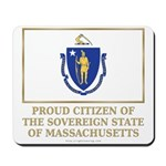 Massachusetts Proud Citizen Mousepad