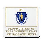 Massachusetts Proud Citizen Mousepad