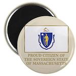 Massachusetts Proud Citizen Magnet