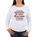 Rejecting Socialism Women's Long Sleeve T-Shirt
