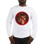 No Sarah Long Sleeve T-Shirt