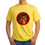 No Sarah Yellow T-Shirt