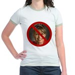 No Sarah Jr. Ringer T-Shirt