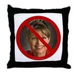 No Sarah Throw Pillow