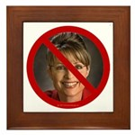 No Sarah Framed Tile