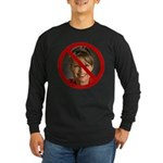 No Sarah Long Sleeve Dark T-Shirt