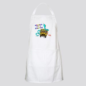 Snakes on a School Bus BBQ Apron